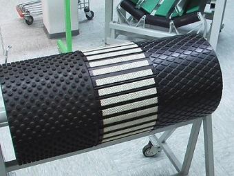 Резина для футеровки барабанов конвейера аренда транспортера на сутки